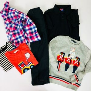 Other - Lot of Boys Clothes 5-6 years Long Sleeve Pants
